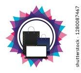 corporate merchandise elements... | Shutterstock .eps vector #1280087467