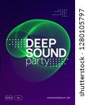 electronic event. dynamic... | Shutterstock .eps vector #1280105797