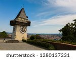 clock tower  called the uhrturm ... | Shutterstock . vector #1280137231