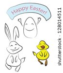 Funny Easter Friends