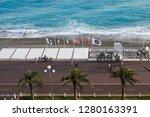 nice  france   september 25 ...   Shutterstock . vector #1280163391