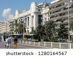 nice  france   september 19 ...   Shutterstock . vector #1280164567