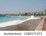 nice  france   september 25 ...   Shutterstock . vector #1280171371