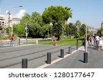 nice  france   september 19 ...   Shutterstock . vector #1280177647