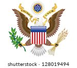 Vector Great Seal Of The Unite...