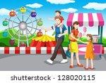 a vector illustration of a...   Shutterstock .eps vector #128020115
