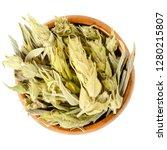 sideritis  greek mountain tea...   Shutterstock . vector #1280215807