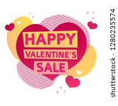 template design banner for... | Shutterstock .eps vector #1280235574