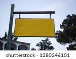 empty old street name signage....   Shutterstock . vector #1280246101
