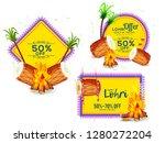 creative sale banner or sale... | Shutterstock .eps vector #1280272204