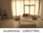 interiors of an elegant modern... | Shutterstock . vector #1280277841