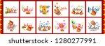 illustration of punjabi... | Shutterstock .eps vector #1280277991