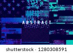artistic creation of the...   Shutterstock .eps vector #1280308591