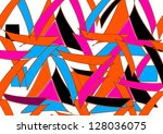 modern abstract design with... | Shutterstock . vector #128036075