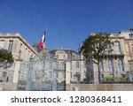 the prefecture of ile et... | Shutterstock . vector #1280368411