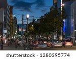 kobe   japan   january 6th 2018 ... | Shutterstock . vector #1280395774