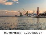kobe   japan   january 6th 2018 ... | Shutterstock . vector #1280400397