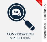 conversation search icon....