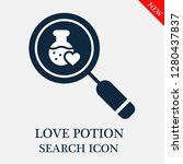 love potion search icon.... | Shutterstock .eps vector #1280437837