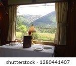 train travel  sacred valley ... | Shutterstock . vector #1280441407