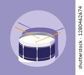 percution drum musical... | Shutterstock .eps vector #1280462674
