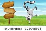 Illustration Of A Wild Animal...