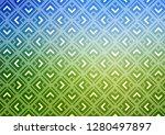 light blue  green vector... | Shutterstock .eps vector #1280497897