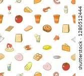 various images set. background... | Shutterstock .eps vector #1280512444