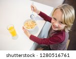 portrait of boy having his... | Shutterstock . vector #1280516761