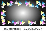 simple black and white gradient ... | Shutterstock .eps vector #1280519227