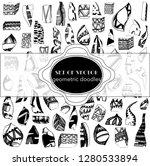 a large set of fantasy shapes... | Shutterstock .eps vector #1280533894