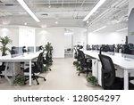 office work place | Shutterstock . vector #128054297