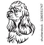 Decorative Portrait Of Dog...