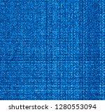 vector blue jeans texture....   Shutterstock .eps vector #1280553094