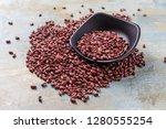 nutritious red beans | Shutterstock . vector #1280555254