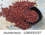 nutritious red beans | Shutterstock . vector #1280555257