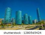 santiago  chile   october 16 ... | Shutterstock . vector #1280565424