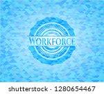 workforce light blue mosaic... | Shutterstock .eps vector #1280654467