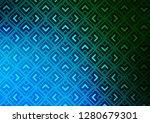 light blue  green vector... | Shutterstock .eps vector #1280679301