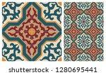 arabic patter style tiles for... | Shutterstock .eps vector #1280695441