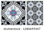 arabic patter style tiles for... | Shutterstock .eps vector #1280695447