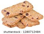 appetizing chip cookies close...   Shutterstock . vector #1280712484
