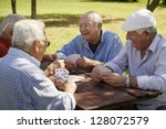 active retirement  old people... | Shutterstock . vector #128072579