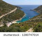 view over porto vromi and the...   Shutterstock . vector #1280747014