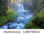 koosah falls  also known as... | Shutterstock . vector #1280748511