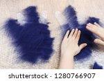 workshop of hand making a... | Shutterstock . vector #1280766907