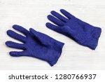 workshop of hand making a... | Shutterstock . vector #1280766937