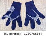 workshop of hand making a... | Shutterstock . vector #1280766964
