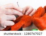 master class of repairing... | Shutterstock . vector #1280767027