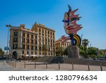 barcelona  spain   july 15 ...   Shutterstock . vector #1280796634